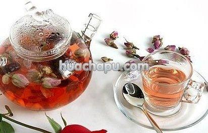 玫瑰花茶和什么搭配效果会更好?