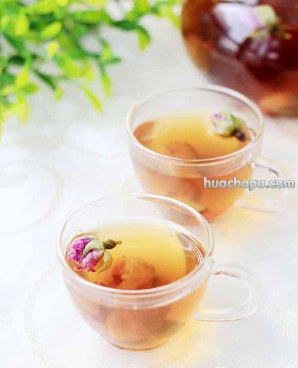 柠檬玫瑰花茶的功效与泡法