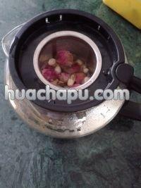 茉莉玫瑰花茶的做法步骤5