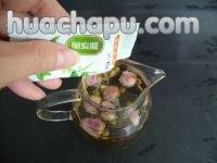 蜂蜜玫瑰花茶的做法步骤4