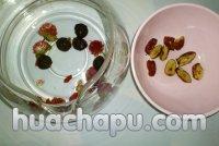 红巧梅红枣桂圆花茶的做法步骤3
