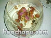 红巧梅红枣桂圆花茶的做法步骤4