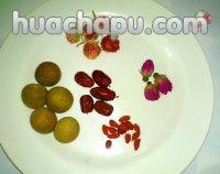 红巧梅红枣桂圆花茶的做法步骤1
